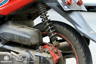 Bahaya Pakai Peninggi Sokbreker Sepeda Motor