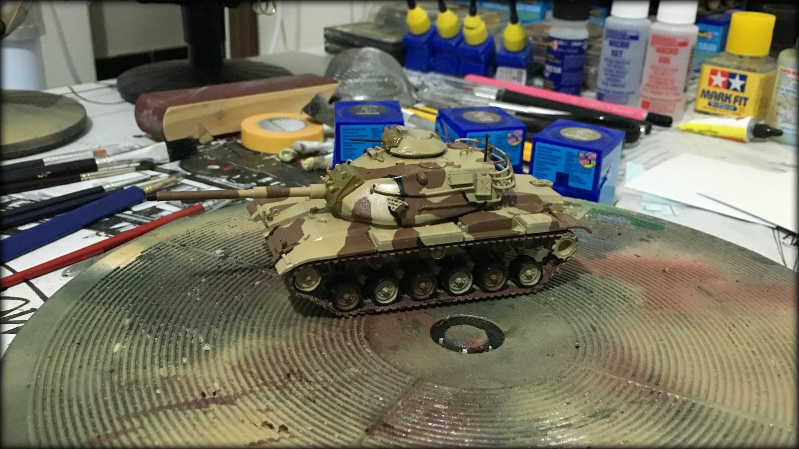 Tanket 172 I M60a3 I Revell