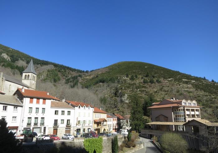 Vue de Saint Laurent les Bains