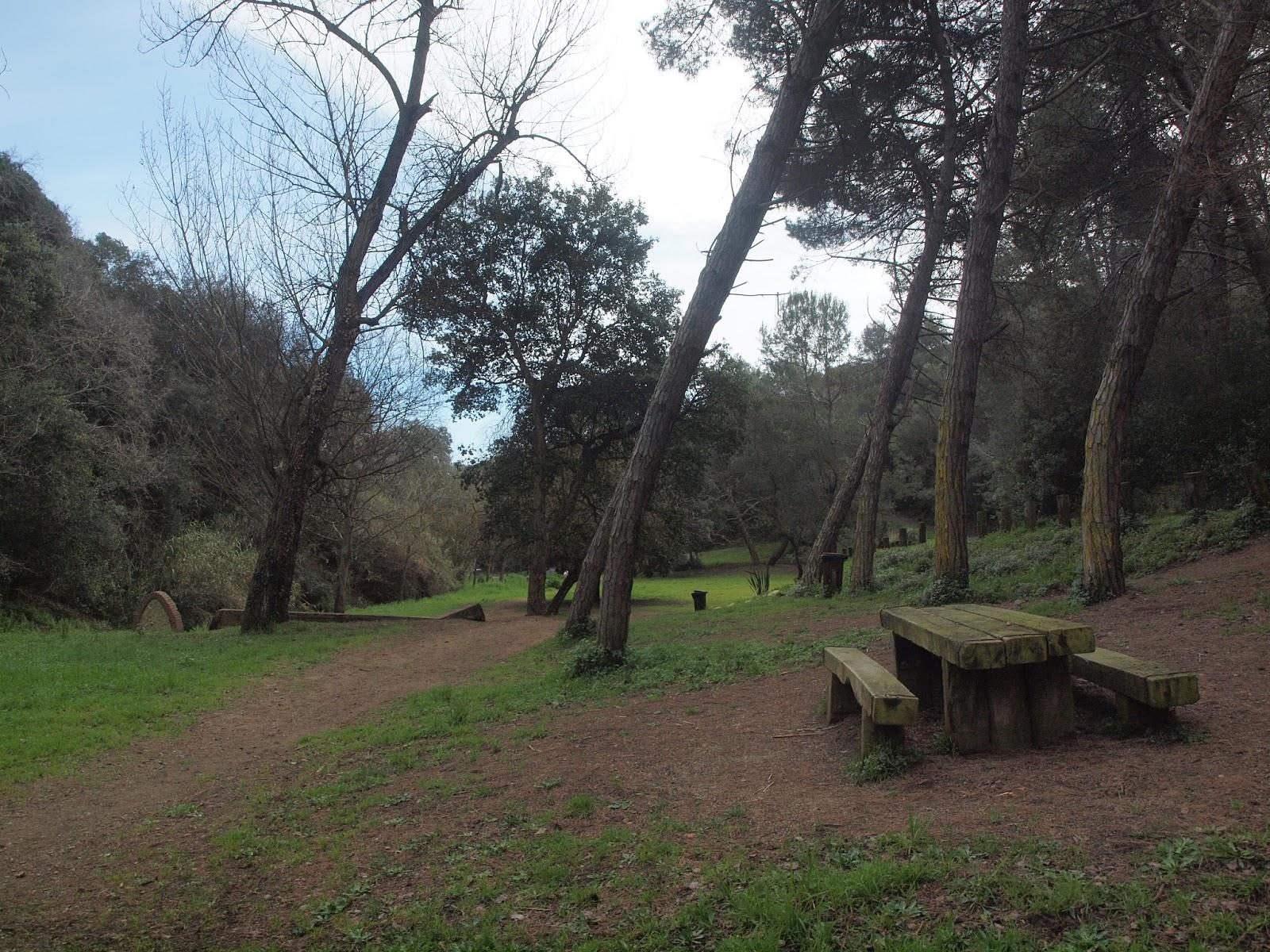 SOM DE PÍCNIC: Àrea de pícnic Parc Font del Boter, Santa Susanna, Maresme