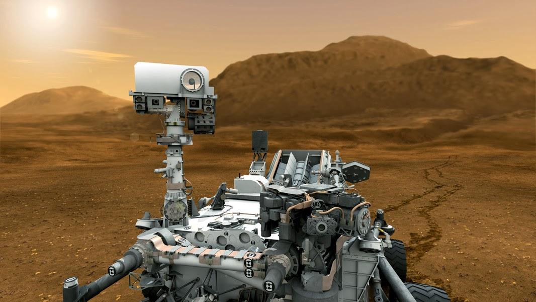 robot on mars nasa - photo #13