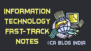 IPCC Information Technology Fast-track Notes