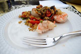 plate of paella