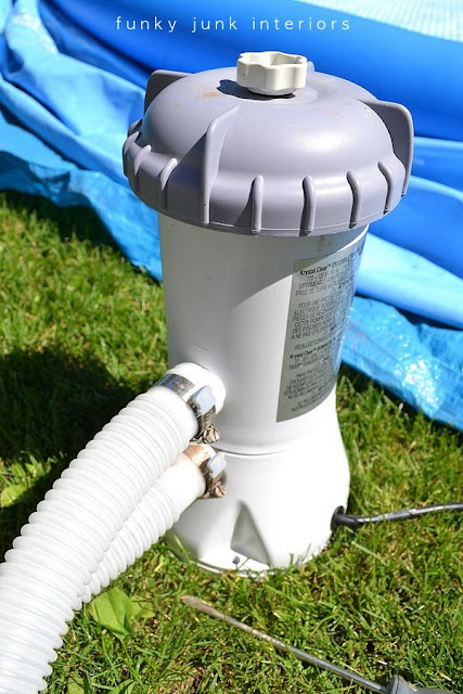 How to set up an inflatable pool. Includes how to smooth the ground, what to place the pool on, inflate the top, fill with water and more tips!
