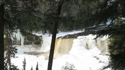 Tahquamenon Upper Falls, March 2015