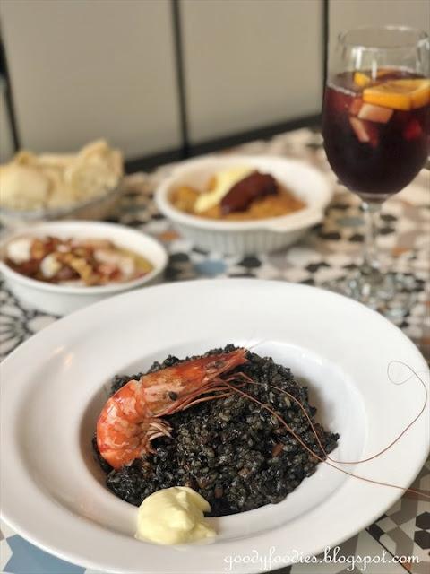 Marta's Kitchen KL - Squid Ink Paella