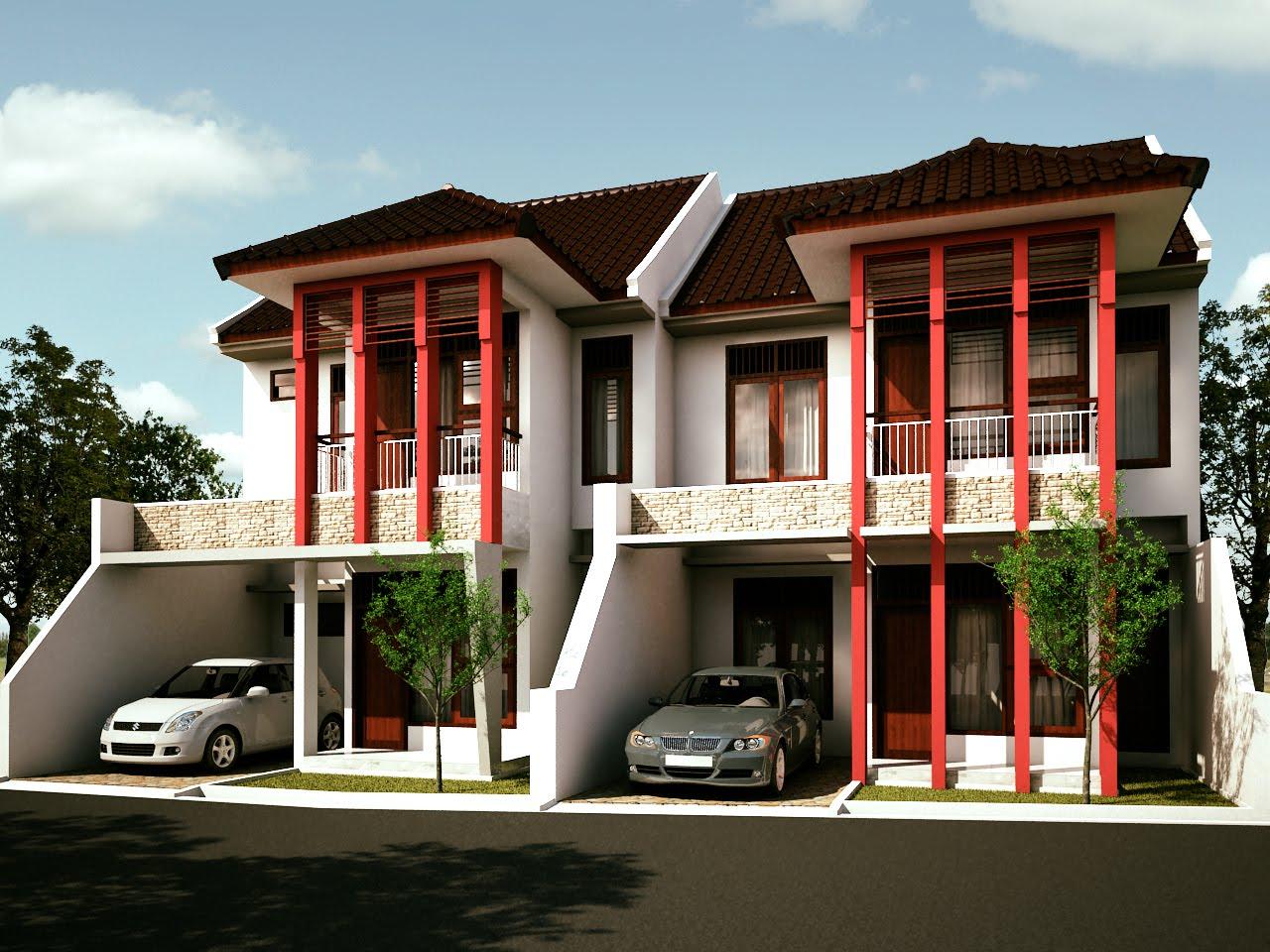 gambardesain3d Download gratis Gambar Kerja Rumah 2 Lantai