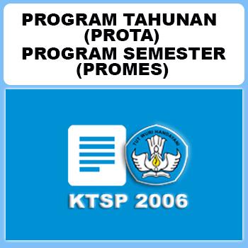 Program Tahunan dan Program Semester SD Kelas 1 KTSP