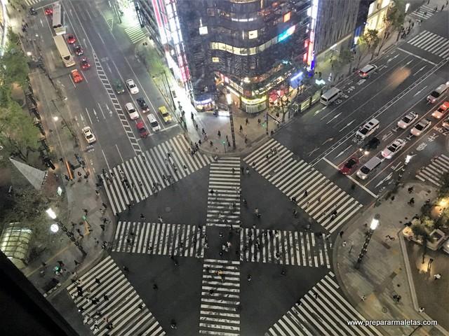 cruce en Ginza Tokio