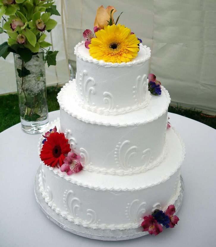 Red And White Wedding Cakes 47 Elegant White Wedding Cake Decorating