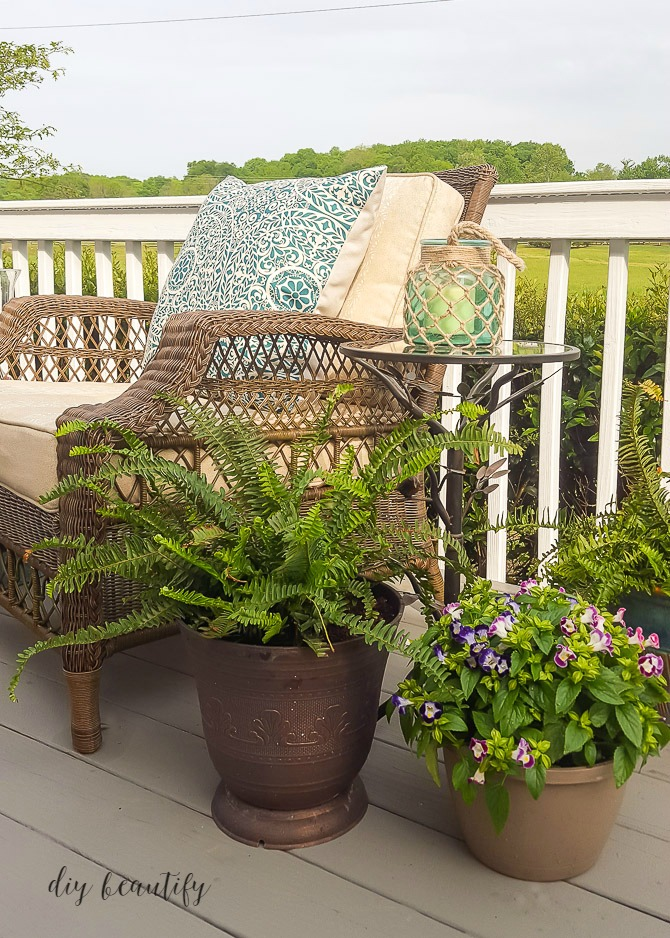 patio spring refresh