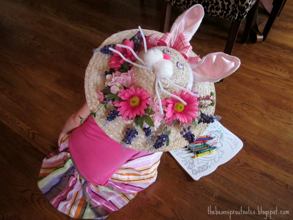 The Bean Sprout Notes: An Easter {Bunny} Hat