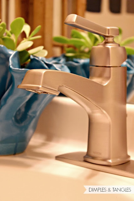 moen boardwalk faucet dimples and tangles