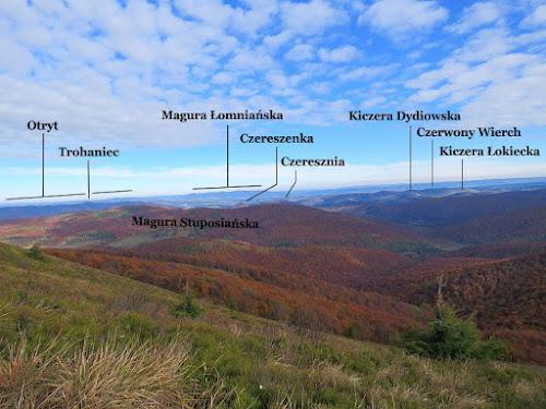 Panorama północno-wschodnia.