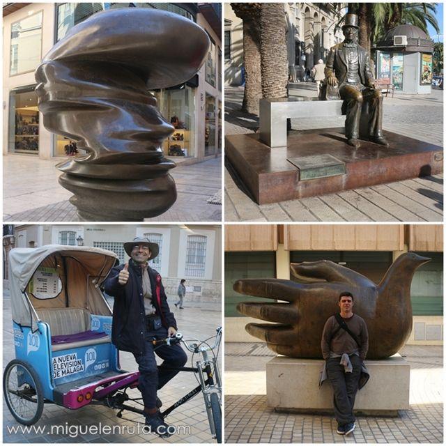 Esculturas-Málaga