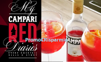 Logo Campari ''My Red Diaries'': vinci gratis 24 Magnum, 24 Red Diaries e non solo