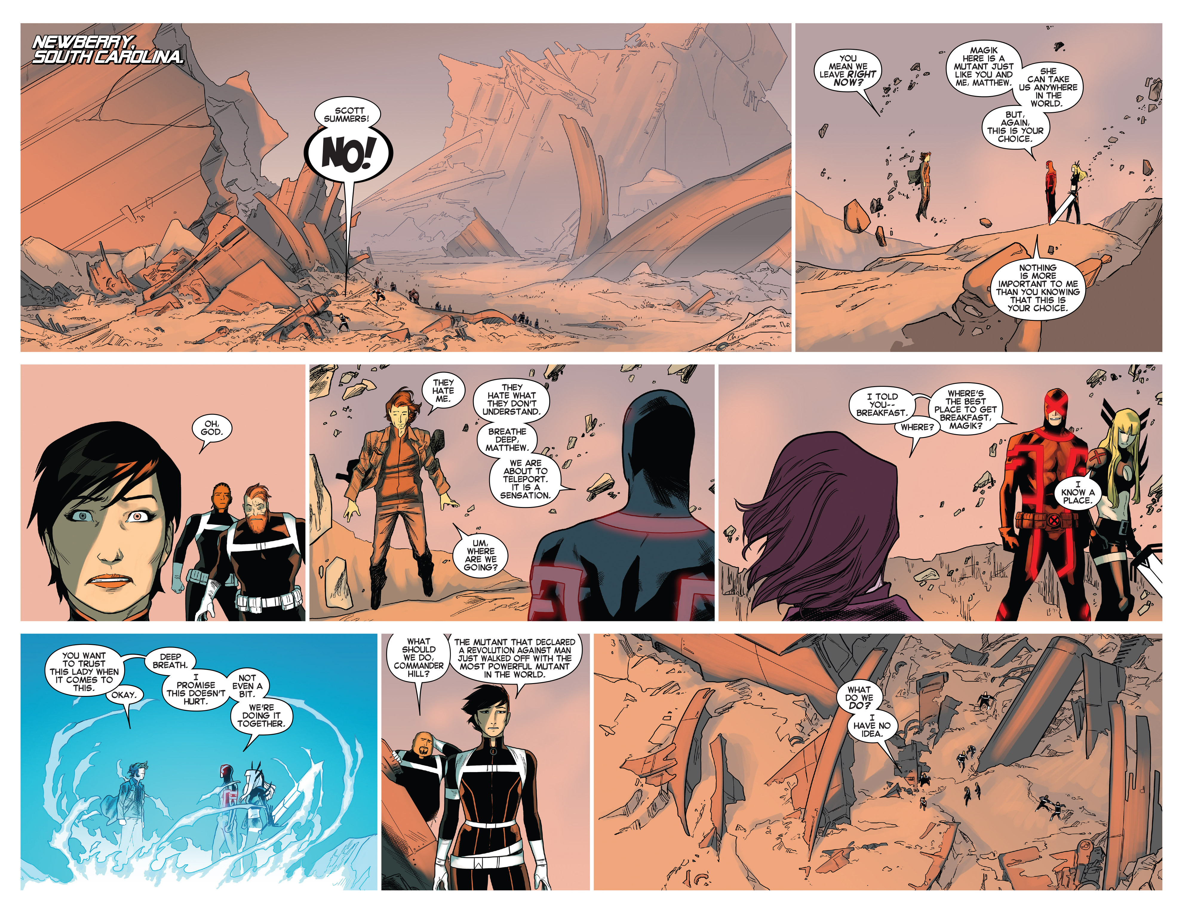Read online Uncanny X-Men (2013) comic -  Issue # _TPB 5 - The Omega Mutant - 41