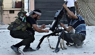 terrorists in Ghouta prevent civilians from leaving via safe corridor