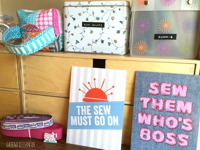 It's not sew easy | Wortspiele