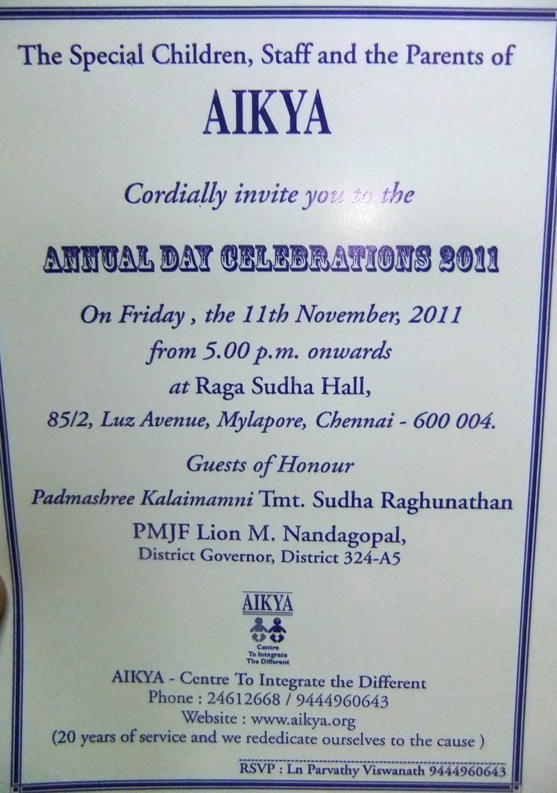 How To Write A Invitation Letter For Annual Day