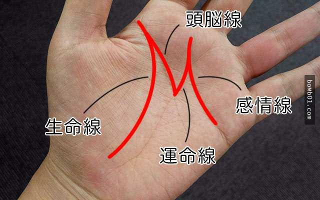 如果你的手掌有「M字型」掌紋的話,那你一定要注意 !很重要
