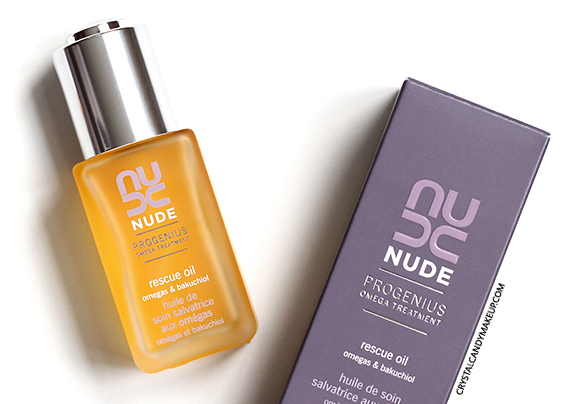NUDE Skincare ProGenius Rescue Oil Review
