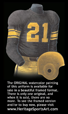 Pittsburgh Steelers 1954 uniform