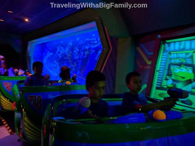 Buzz Lightyear needs your help at Hong Kong Disney Park