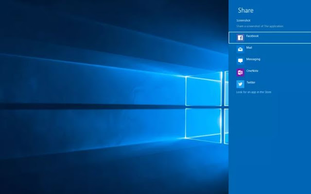 Capture screenshots on windows 10 PC social
