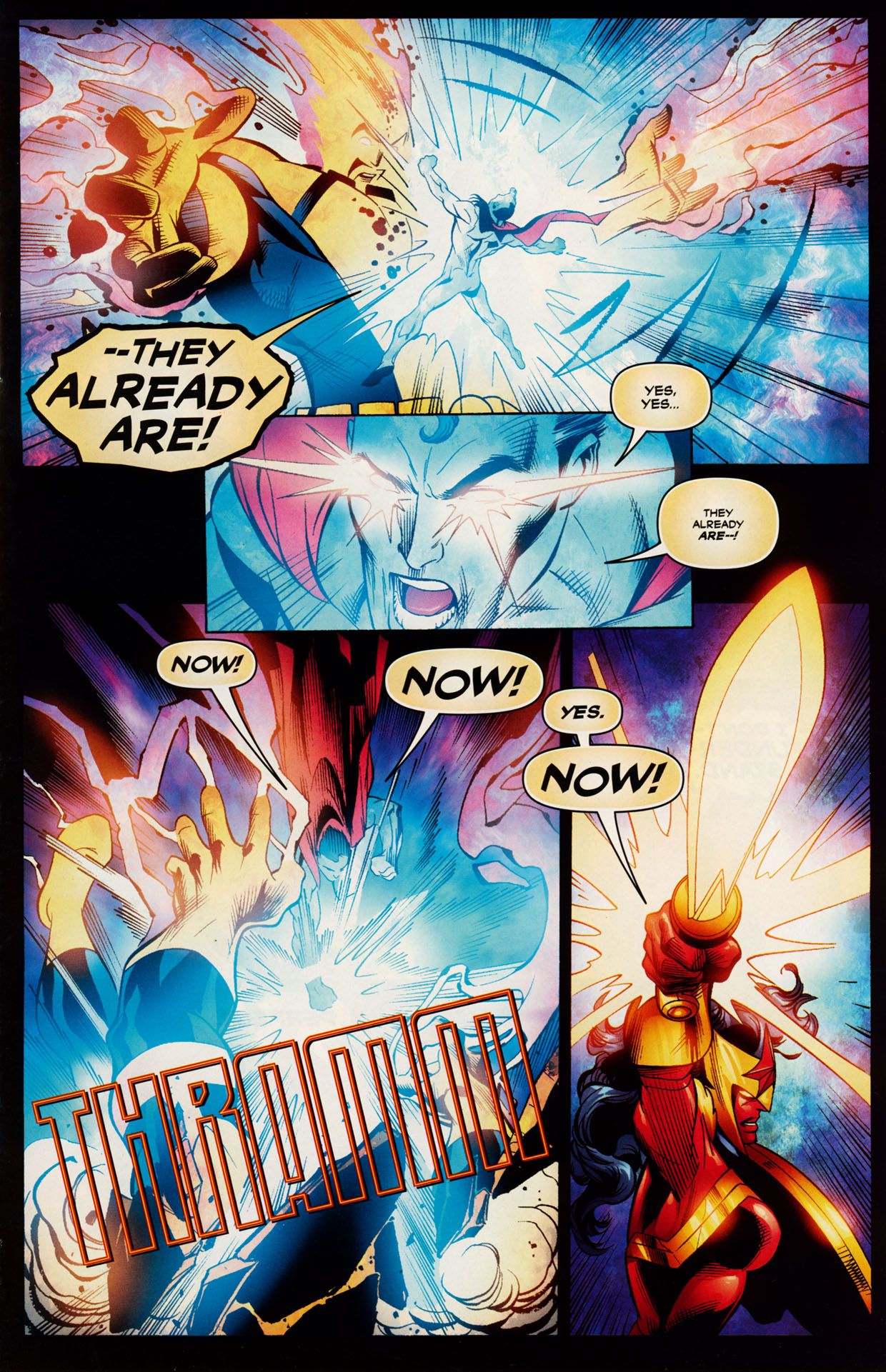 Read online Trinity (2008) comic -  Issue #48 - 13
