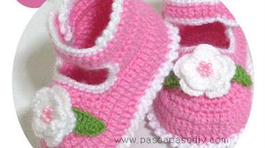 Patucos tejidos al Crochet - diy