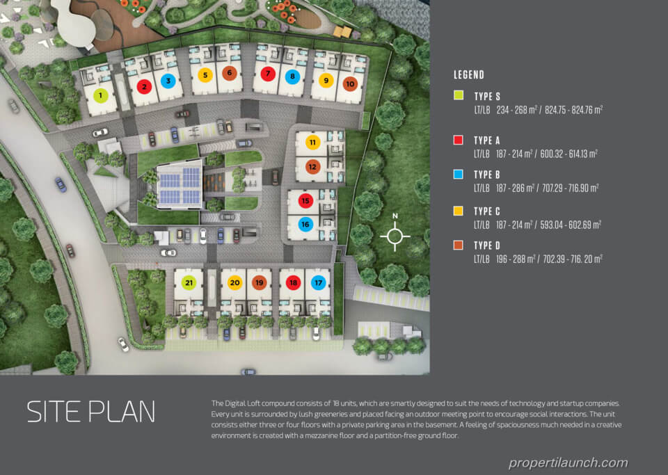 Master Plan Digital Loft BSD