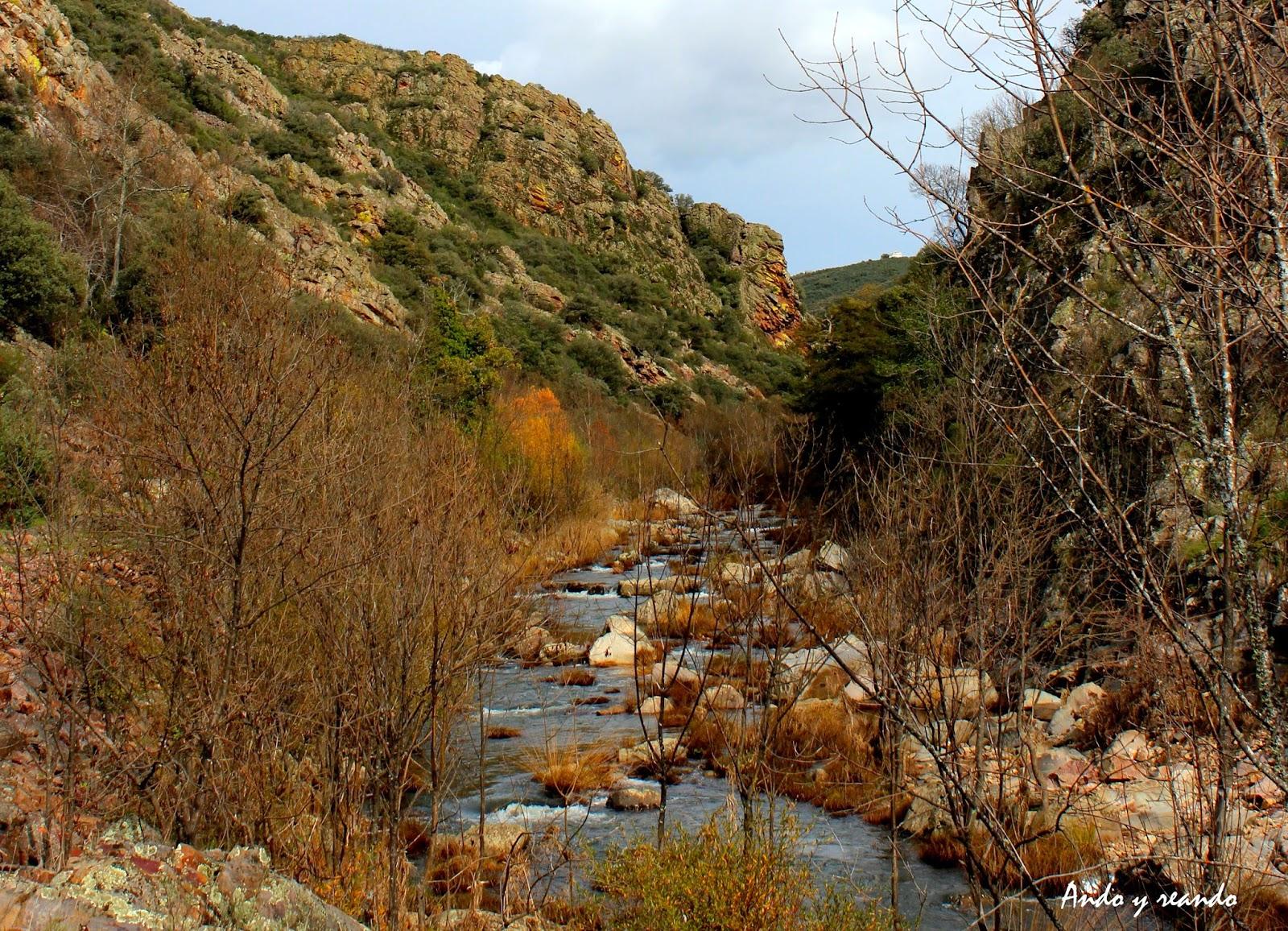 Río Estena y Boquerón de Estena