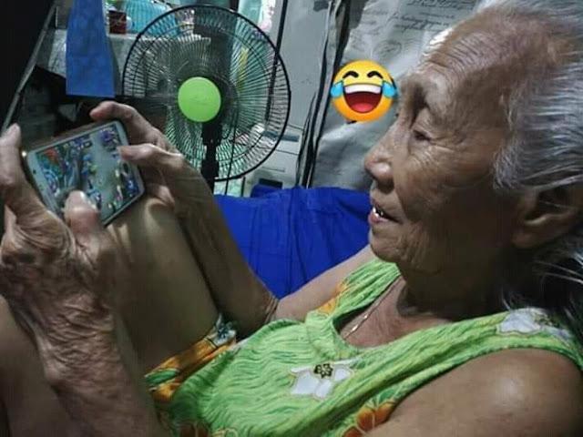 Nenek Jaman Now Suka Main Game Mobile Legends 5