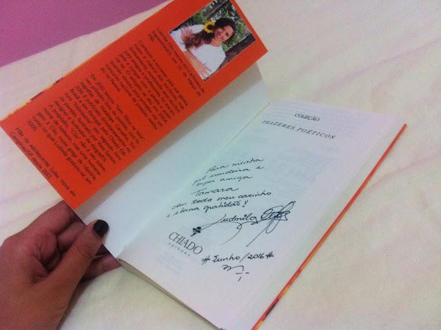 resenha livro Febríssima Ludmila Clio - Tamaravilhosamente