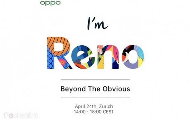 أوبو تعيين 24 أبريل موعداً للكشف عن هاتف OPPO Reno