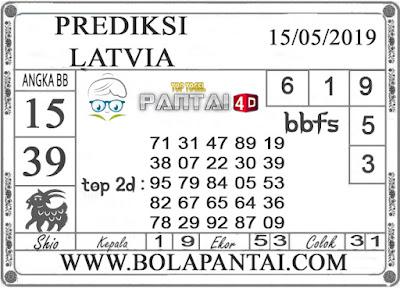 """Prediksi Togel """"LATVIA"""" PANTAI4D 15 MEI 2019"""