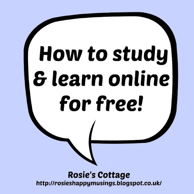 How to study and learn online for free!