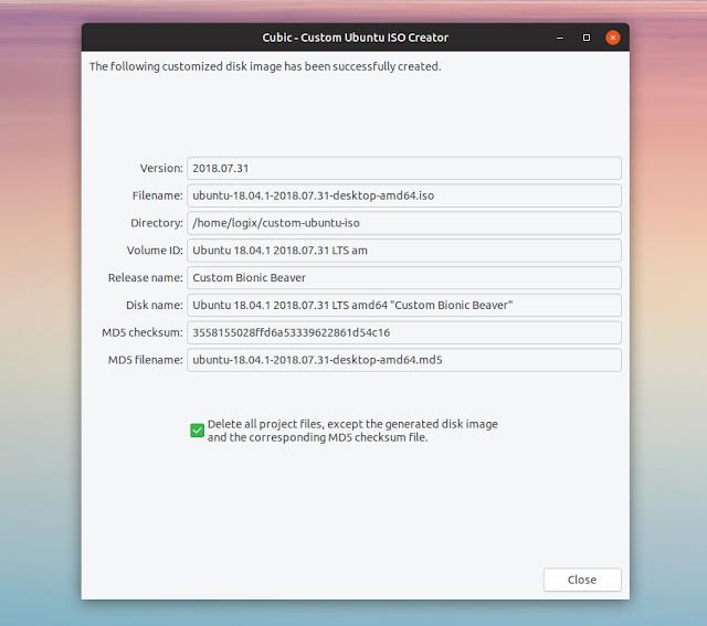 Custom Ubuntu ISO Creator Cubic