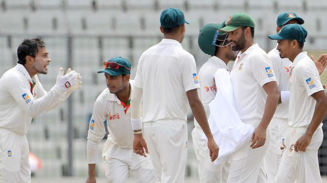 Bangladesh beat Australia in the first test
