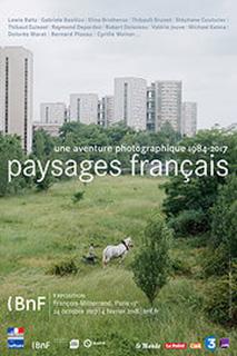 Affiche de l'exposition Paysages français