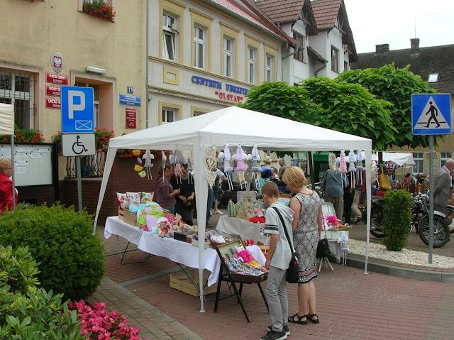 W Pszczewie jest klimat do wystaw rękodzieła.