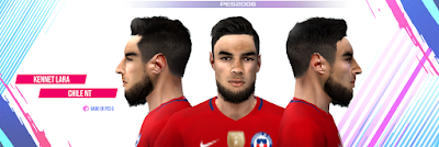 PES 6 Faces Kennet Lara by Gabo CR Facemaker