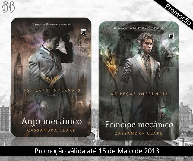 Promo: Anjo Mecanico + Principe Mecanico, da autora Cassandra Clare 6