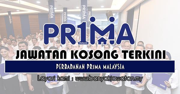 Jawatan Kosong 2018 di Perbadanan Pr1ma Malaysia