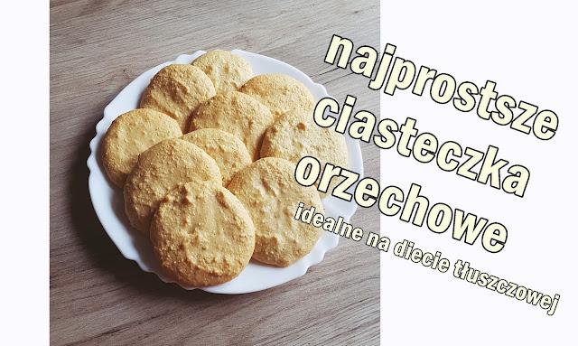 Ciasteczka orzechowe ( keto / low carb / dieta tłuszczowa )