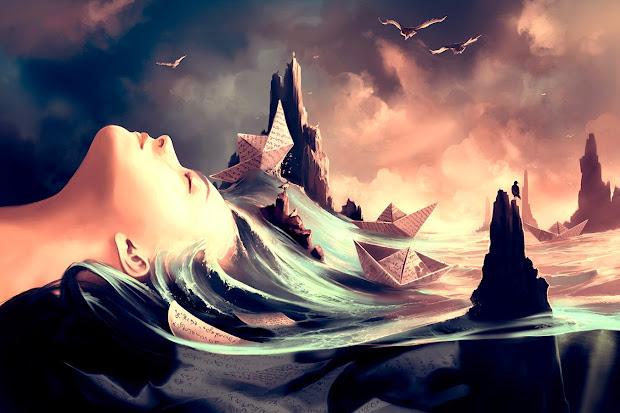 Surreal Digital Art by Cyril Rolando