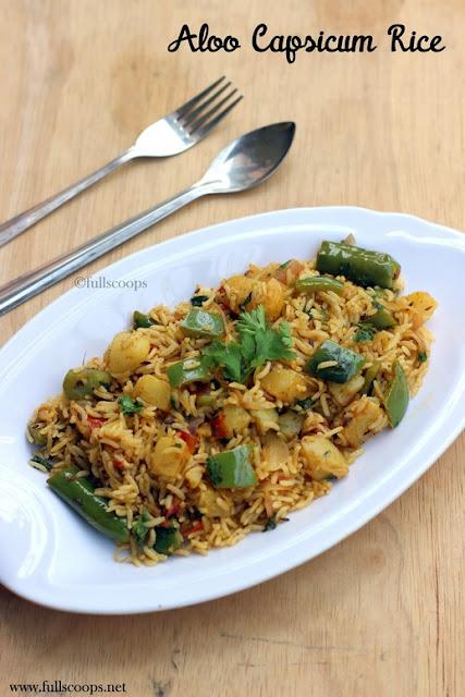Aloo Capsicum Rice