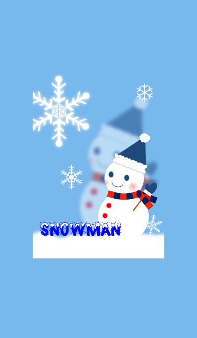 *Snow man*