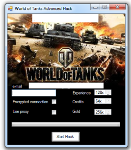 world of tanks gold generator